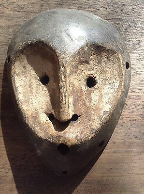 african Kwamba passport mask antique masks wood carving figure