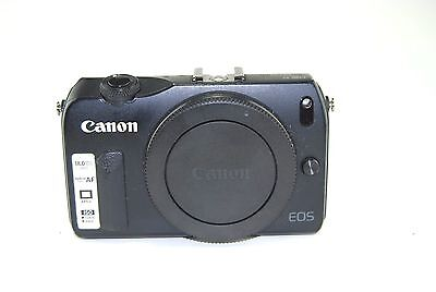 Canon EOS M 18.0MP Digital Camera Body Only - Black-USED