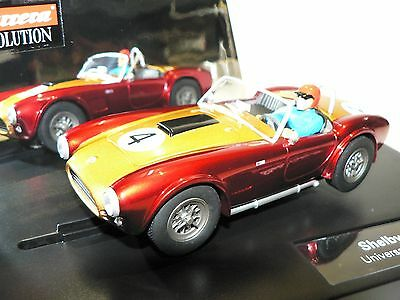 Carrera Evolution 27433 Shelby Cobra 289 Universal Memories No. 4 NEW