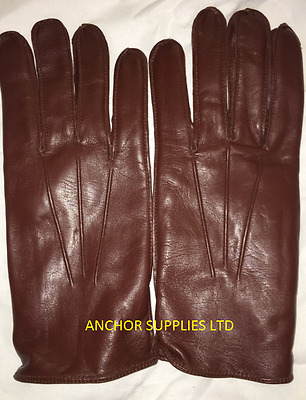 British Army Officers Gloves Brown Mens Winter/Driving