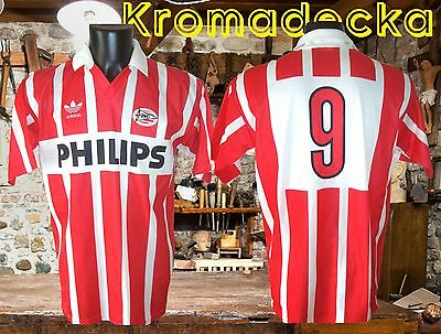 Maglia PSV Eindhoven 1991-92 Adidas Philips rare vintage trikot Holland shirt