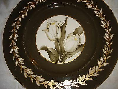 """Royal Worcester """"tulip"""" plate"""