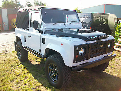 Land Rover defender 90 1988 300Tdi soft top fully upgraded and restored