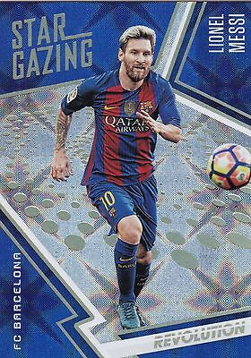 2017 Panini Revolution Soccer Star Gazing Lionel Messi Galactic 1:609 Ssp !!!