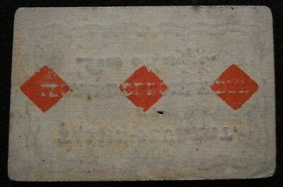 18th Century Playing Card French Marriage Announcement