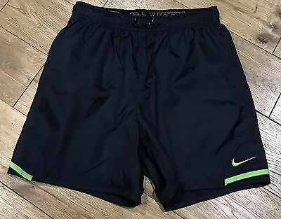 Mens Nike Running Shorts In Navy Blue Size S