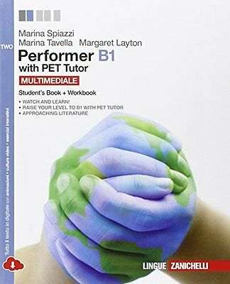Performer B1 vol. two multimediale (ldm) spiazzi marina [9788808236395]