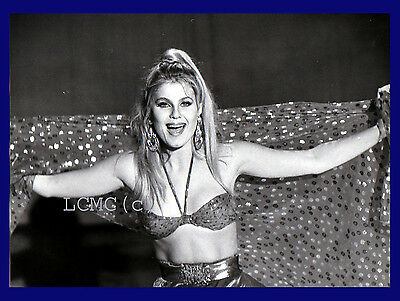 Fotografia Press Photo 1990 La Showgirl E Attrice Patrizia Pellegrino °