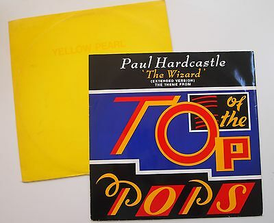 "YELLOW PEARL / WIZARD 12"" VINYL TOP OF THE POPS Philip Lynott Paul Hardcastle"