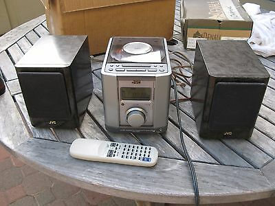 JVC FS-1000GR EXECUTIVE MICRO COMPONENT STEREO SYSTEM CD w REMOTE