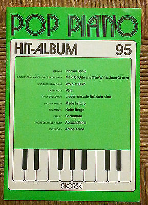 Raccolta Spartiti  -  Pop Piano  -  Hit Album  95  -  Per Pianoforte