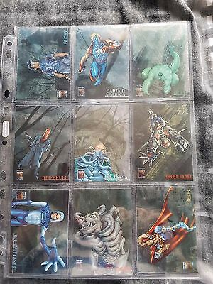 Marvel Complete Set of 9 Heroes Reformed Photographix Limited Edition Cards Rare