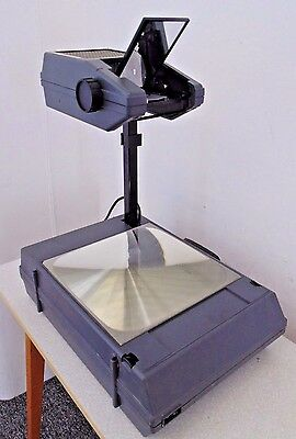 3M 2000 AHSV Overhead Portable Foldable Projector Office School Hospital Used