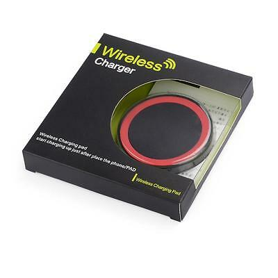 Qi Wireless Fast Charger Charging Pad Plate For Samsung Nokia HTC LG With Cable