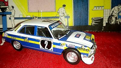PEUGEOT 504 - DIECAST RALLY CAR MODEL SCALE 1:43 - Safari Rally 1976
