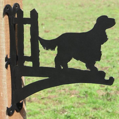 Cocker Spaniel Hanging Basket Bracket