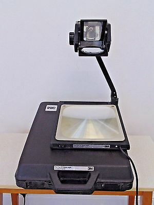 "3M Five ""O"" Eighty Eight Overhead Portable Foldable Projector Office School Used"
