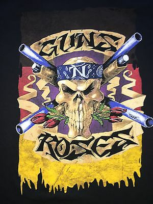 GUNS N ROSES MUNICH GERMANY EVENT 2017 TOUR Shirt XXL with date !! LAST ONE !!