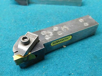 """Kennametal 3/4"""" Square Shank Indexable Insert Lathe Grooving Tool NSR 123A"""