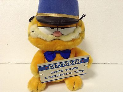 Dakin 1978 1981 Garfield Plush Soft Toy Rare Collectable Cattygram