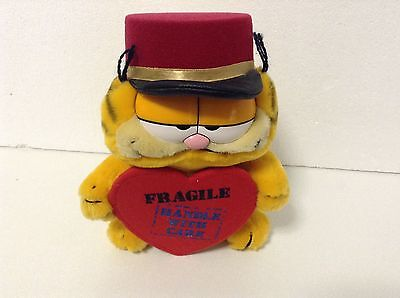 Dakin 1978 1981 Garfield Plush Soft Toy Rare Collectable Fragile