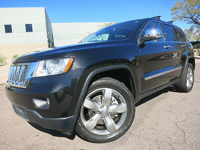 2011 Jeep Grand Cherokee Overland Overland 4X4 Navigation Heated/Cooled Seats Pano Roof 2010 2012 limited 4WD jeep