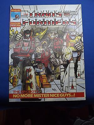 Marvel The Transformers UK Weekly Comic #31  19th October 1985 NM