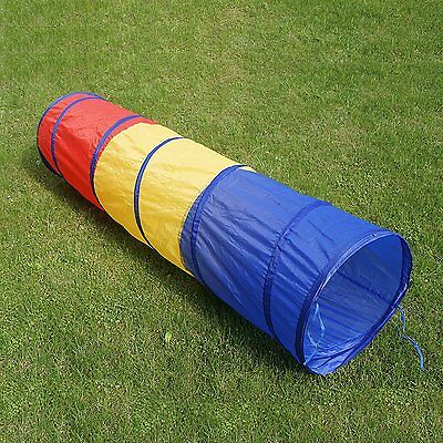 6 feet Play Tunnel Toy Tent Child Kids Pop up Discovery Agility Tube Playhouse