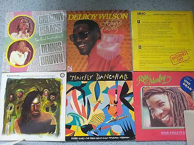 "Job Lot Reggae Lot X 6 12"" Lp Roots Dancehall"