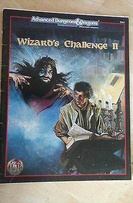 AD&D Wizards Challenge II   TSR DUNGEONS DRAGONS AD&D  9454