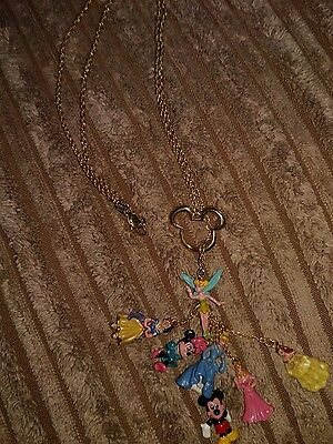 bradford exchange disney princesscharm necklace