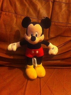 "Disney Mickey Mouse 9"" Plush Soft Toy"