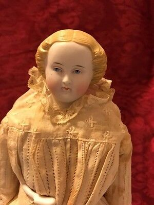 """1870's-80's Antique """"Parian China Doll""""-All Original -Germany"""