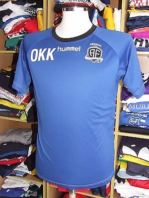 Shirt Arendal Fotball (M) Training Issue Norway Jersey Trikot Maglia Hummel