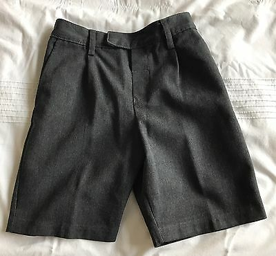 Marks And Spencer Grey School Shorts Age 5-6