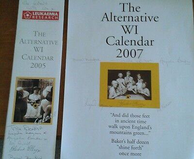Signed ** The Alternative Wi Calendar 2005 & 2007 * Rylstone Wi ** Both Signed