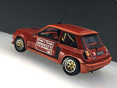 MaxiCollection Transkit Renault 5 Turbo Coupe1980 1/43 scale