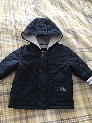 Hugo Boss Baby Boy Coat 3-6 Month Would Fit 0-3