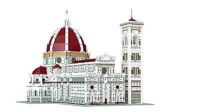 MOC LEGO Florence Cathedral ldd model (Santa Maria del Fiore Cathedral)