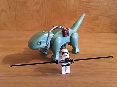 LEGO Star Wars Dewback and Sandtrooper minifigures (split from 4501)