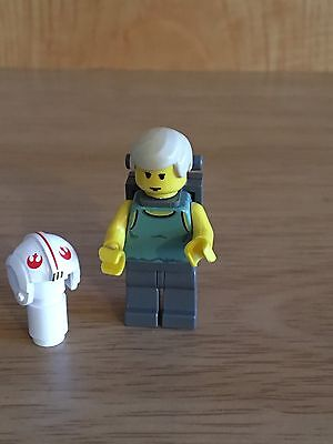 Star Wars Lego Luke Skywalker Dagobah Minifigure (4502)