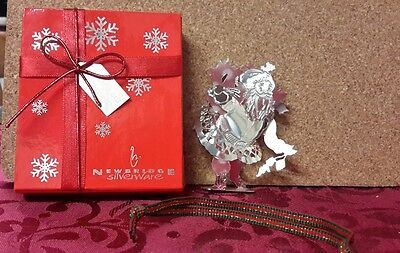 newbridge silverware christmas decoration father Christmas boxed