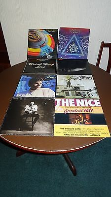 joblot/collection of 16 vinyl lps various artists