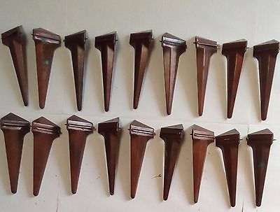 vintage art deco stair carpet clips