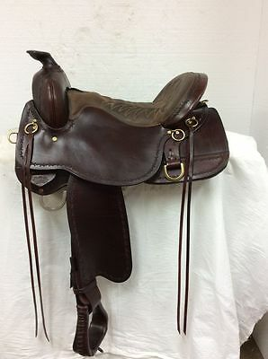 "Tucker Northwest 16"" Western Trail Used Once #254 Full Quarter Horse Bar"