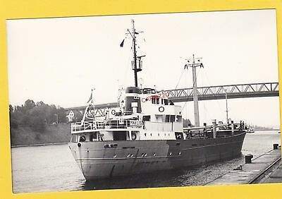 MAY LIS 1963 Dutch coaster     -    Photograph
