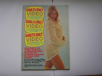 GLAMOUR VIDEO MAGAZINE  vol 1 no 12 pre cert era 1983