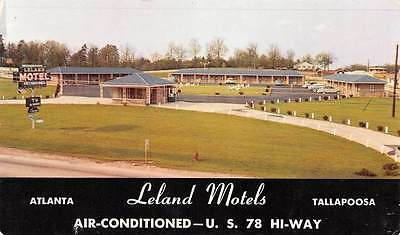 Leland Motels Atlanta Tallapoosa US 78 Ga