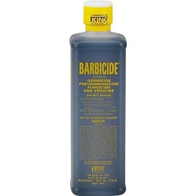 Barbicide Germicide Disinfectant For Barber's Salons and Spa's 16oz.