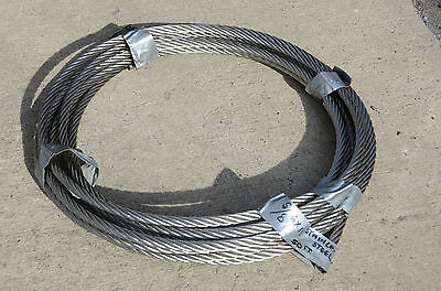 "5/8"" x 50' roll  of Stainless Steel Cable"